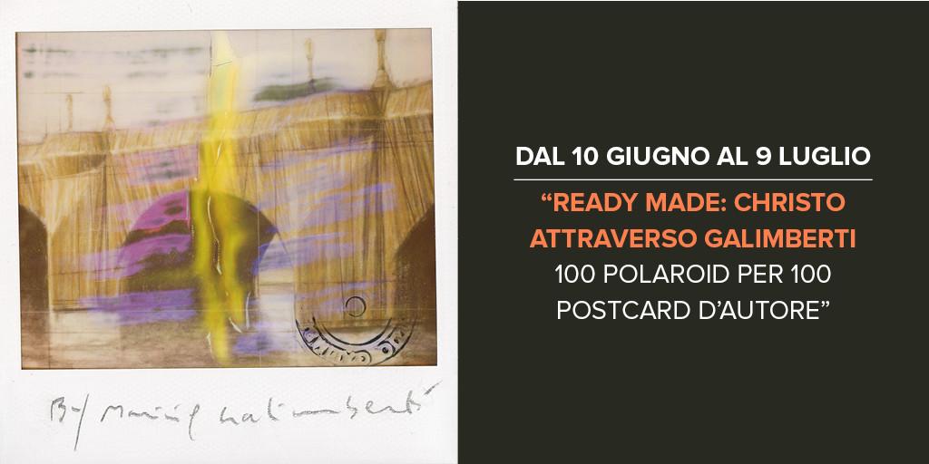 ... through Galimberti – 100 Polaroids for 100 artistic postcards